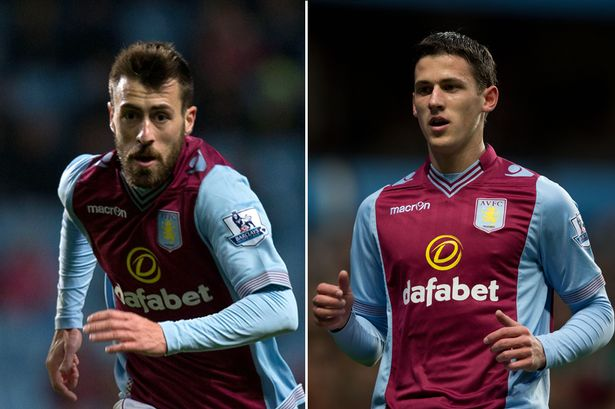 Aleksandar Tonev and Antonio Luna look set to have played their last games for Aston Villa after they were left out of the club's tour of America